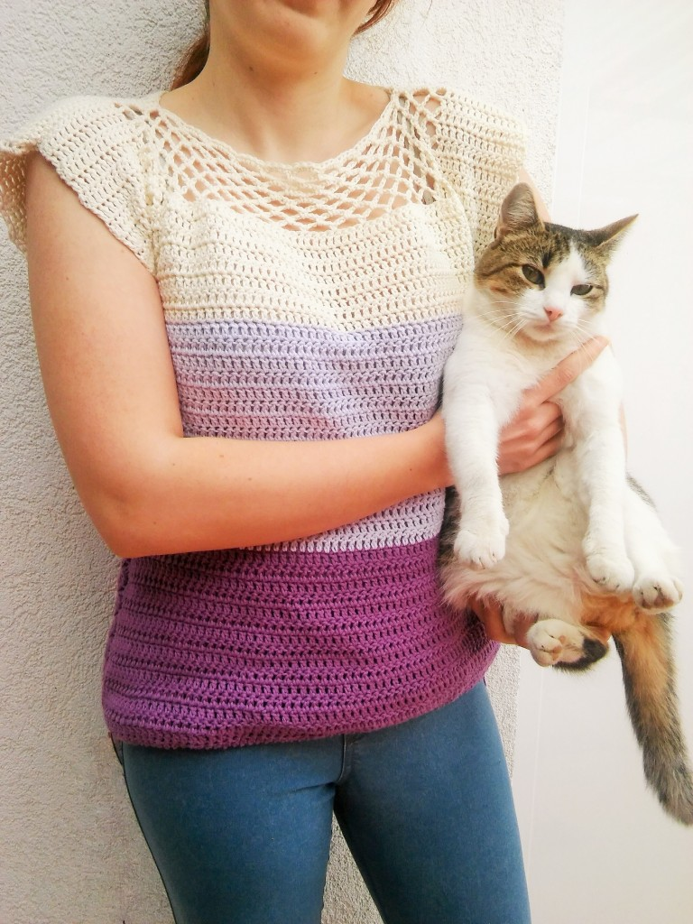 Simply Cute Blouse - Free Crochet Pattern for Beginners ...