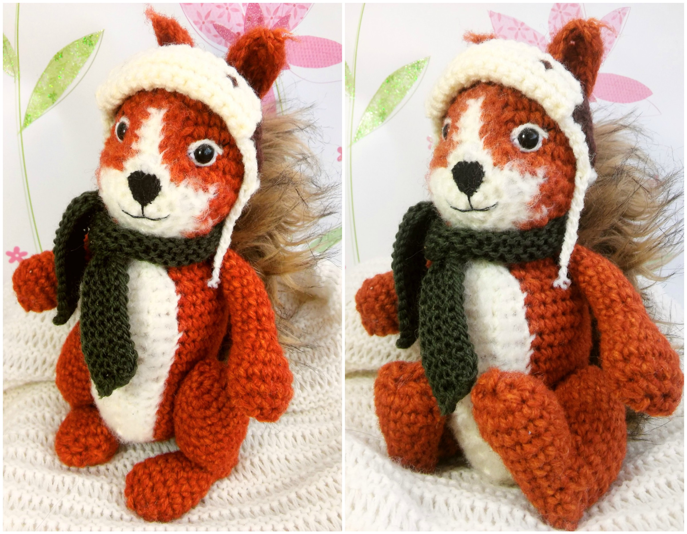 Squirrel Amigurumi Crochet Pattern - The Magic Loop