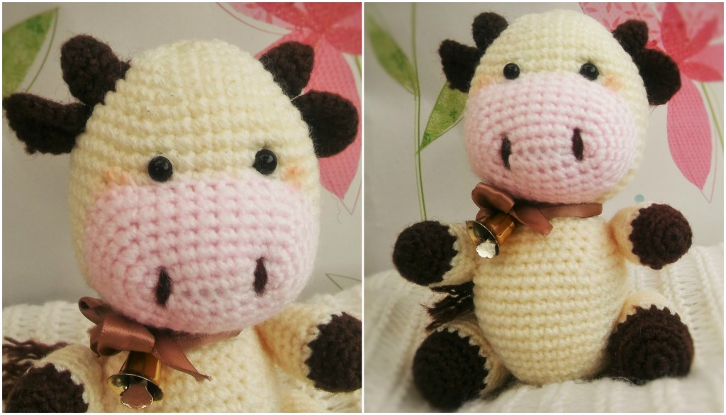 Candy The Cow Free Amigurumi Crochet Pattern The Magic Loop