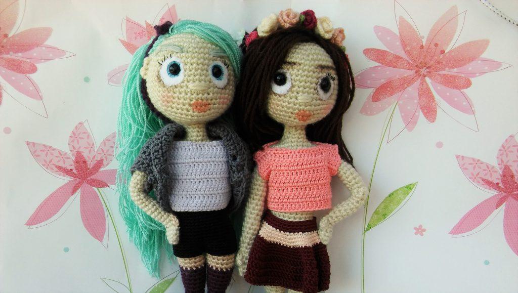 Amidolls: Flora & Kailee - Amigurumi Crochet Patterns ...