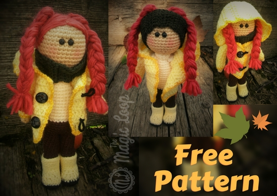 Autumn Doll Free Crochet Amigurumi Pattern The Magic Loop