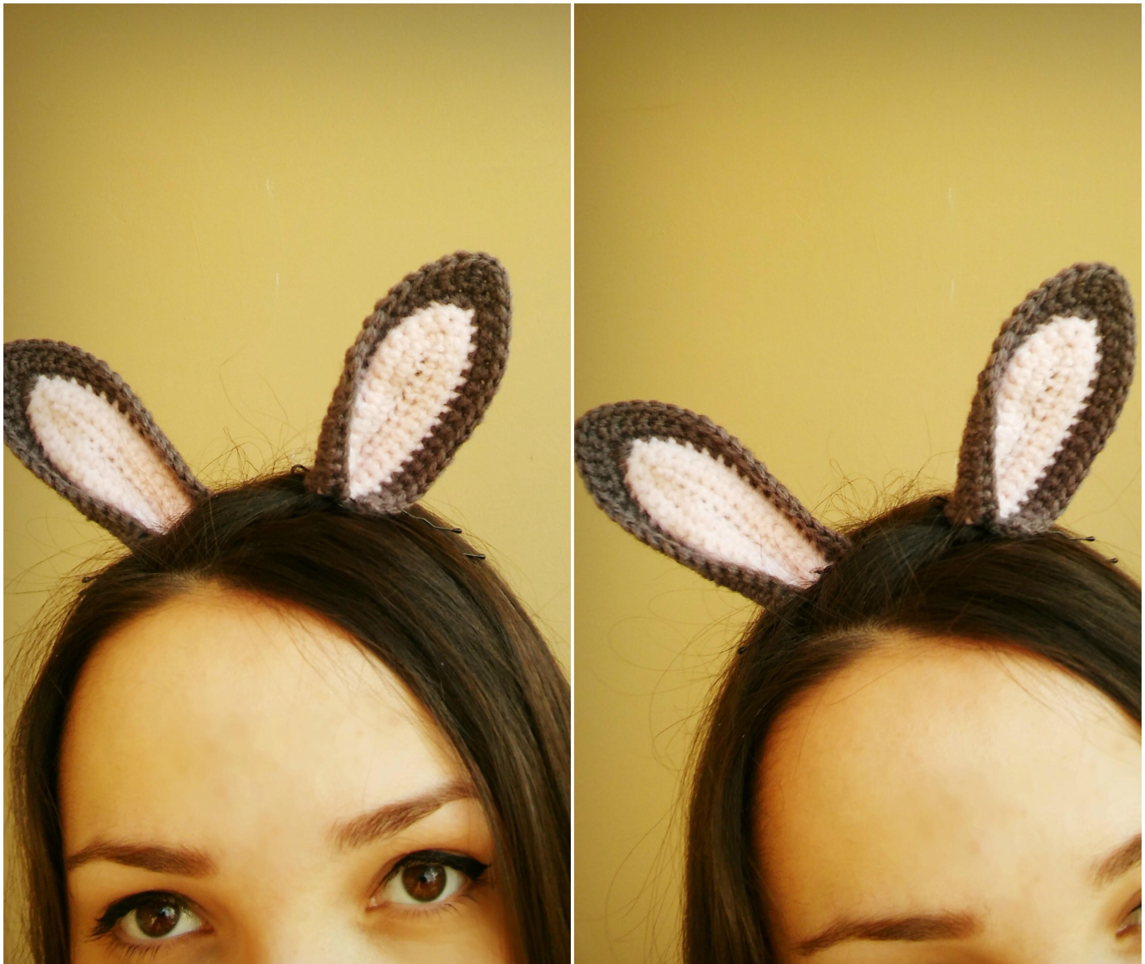 Pretty Bunny with floppy ears - Crochet Pattern - Amigurumi Today | 3355x3988