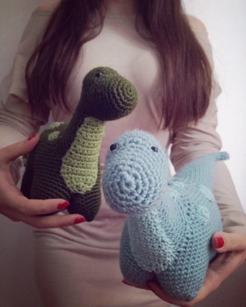 Amigurumi dinosaur crochet pattern - Amigurumi Today | 1024x819