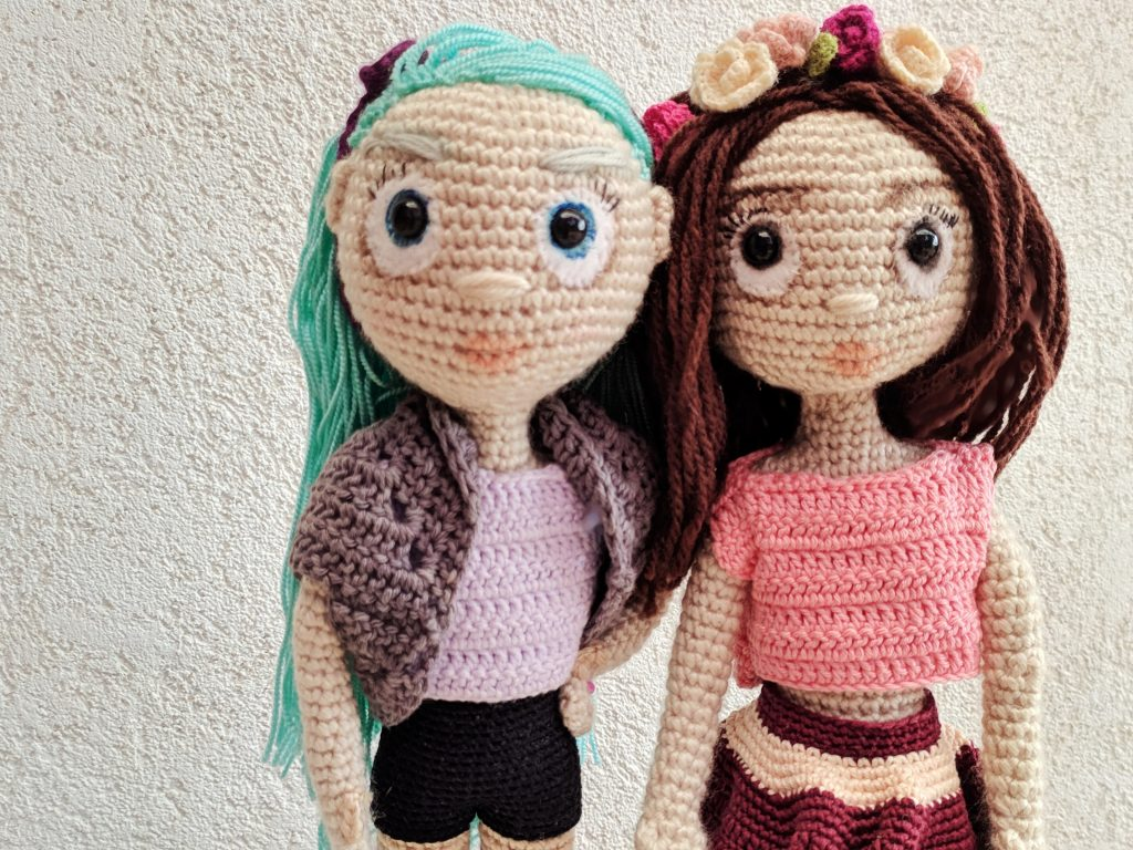Crochet Fashion Dolls