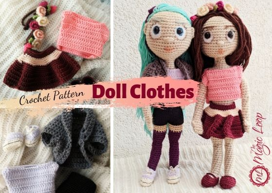 Amy the Amigurumi Doll - A Free Crochet Pattern - Grace and Yarn | 397x559