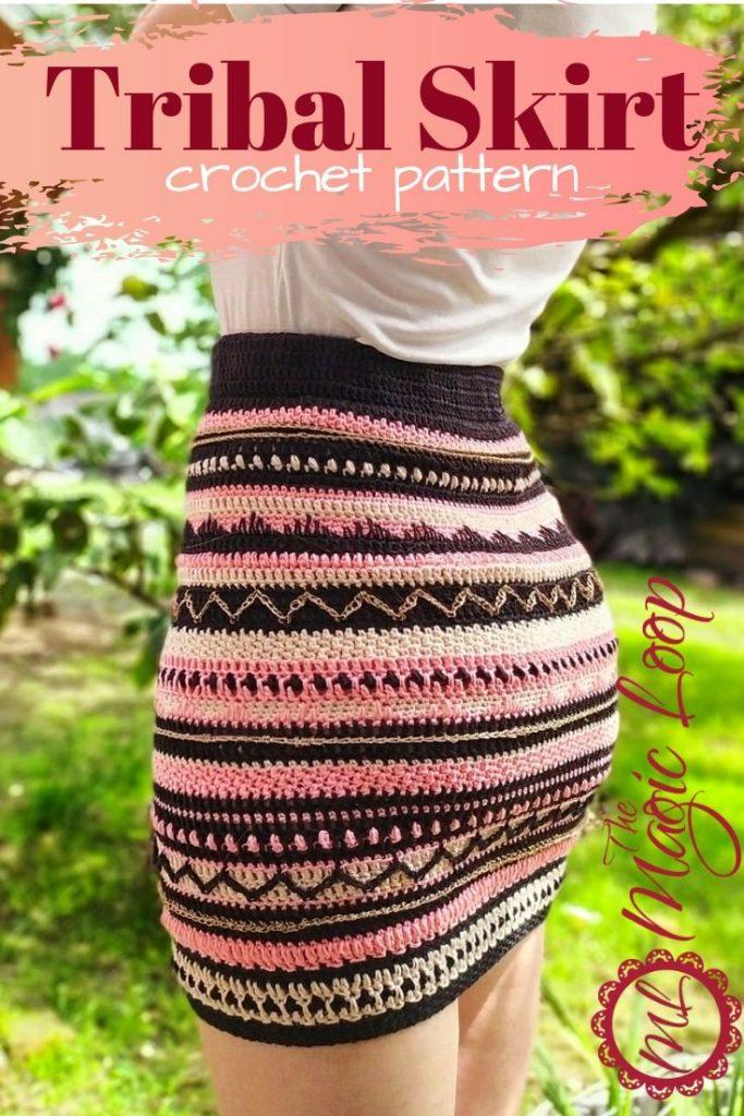 Tribal Skirt - Crochet Pattern · The Magic Loop