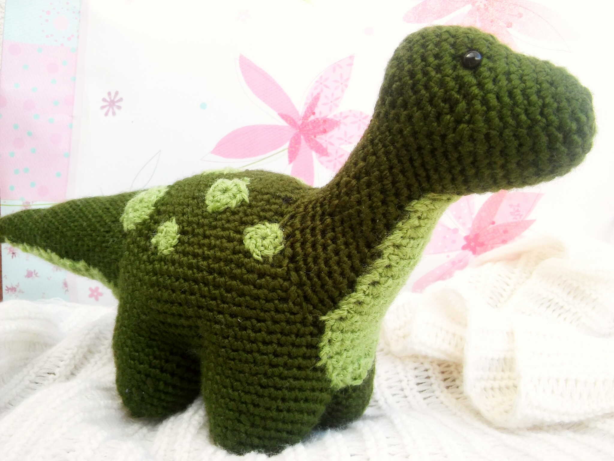 Tiny Dinosaur Amigurumi - Free Pattern | Crochet patterns ... | 1536x2048