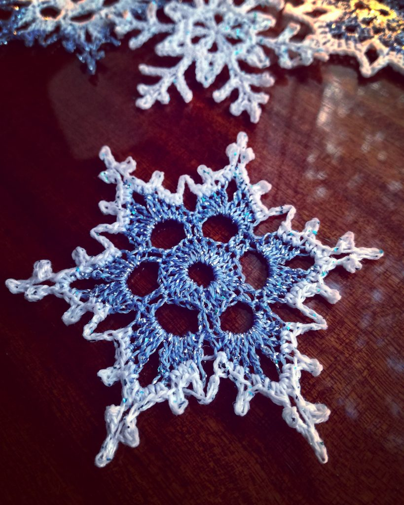 Mysterious Snowflakes Free Crochet Patterns