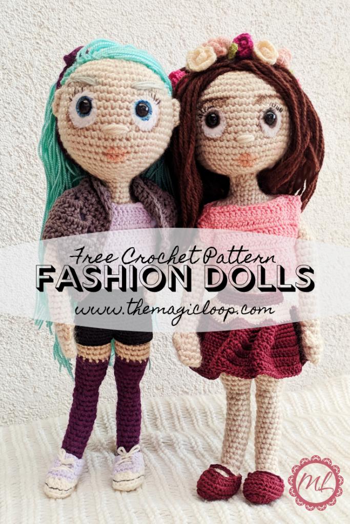Crochet Amigurumi Doll CAL Ep3 - Arms and Hair - YouTube   1024x683